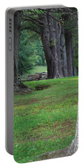 Portable Battery Charger featuring the photograph Tree Line by Eric Liller