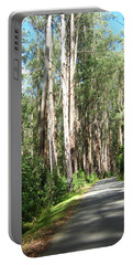 Tree Lined Mountain Road Portable Battery Charger