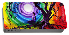 Tree Of Life Meditation Portable Battery Charger