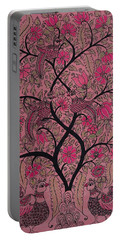 Tree Of Life - Rose Portable Battery Charger