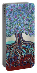 Tree Of Life-spring Portable Battery Charger