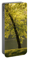 Portable Battery Charger featuring the photograph Tree Of Light by Shane Holsclaw