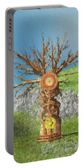 Tree Of Time Portable Battery Charger