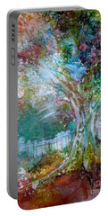 Tree On Fire Portable Battery Charger