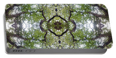 Tree Photo Fractal Portable Battery Charger