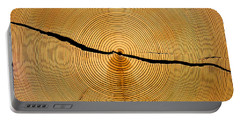 Tree Rings Portable Battery Charger