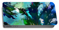 Tree Spirit Abstract Digital Painting Portable Battery Charger