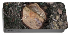 Tree Stump Portable Battery Charger by Dariusz Gudowicz