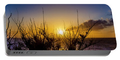 Tree Sunset Portable Battery Charger