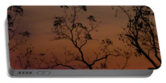 Tree Top After Sunset Portable Battery Charger by Donald C Morgan