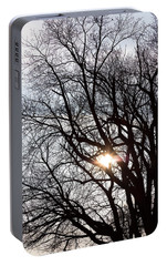 Portable Battery Charger featuring the photograph Tree With A Heart by James BO Insogna