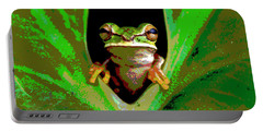 Treefrog Portable Battery Charger by Charles Shoup