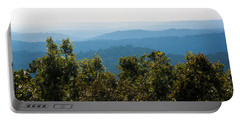 Portable Battery Charger featuring the photograph Trees And Rolling Hills by Parker Cunningham