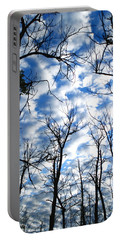 Portable Battery Charger featuring the photograph Trees In The Sky by Shari Jardina