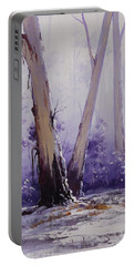 trees in winter Australia Portable Battery Charger