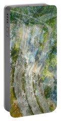 Trees Over Highway Portable Battery Charger