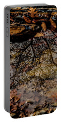 Portable Battery Charger featuring the photograph Tree's Reflection by Iris Greenwell