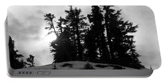 Trees Silhouettes Portable Battery Charger