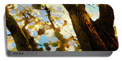 Treetop Abstract-look Up A Tree Portable Battery Charger