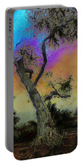 Portable Battery Charger featuring the photograph Trembling Tree by Lori Seaman