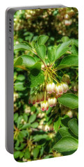 Tres Belle Portable Battery Charger by Isabella F Abbie Shores FRSA