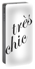 Tres Chic Portable Battery Charger