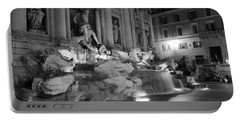Trevi Fountain Night 2 Portable Battery Charger
