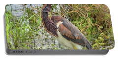 Tri-colored Heron Portable Battery Charger