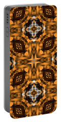Portable Battery Charger featuring the digital art Triangle Artwork by Sheila Mcdonald