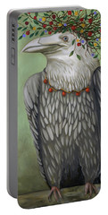 Tribal Nature Portable Battery Charger by Leah Saulnier The Painting Maniac