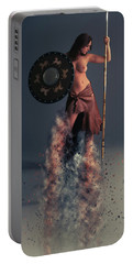 Tribal Warrior Portable Battery Charger