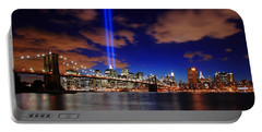 Tribute In Light Portable Battery Charger by Rick Berk