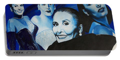 Tribute To Lena Horne Portable Battery Charger