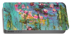Tribute To Monet II Portable Battery Charger