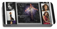 Tribute Whitney Houston One Moment In Time Portable Battery Charger