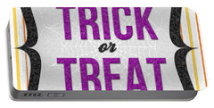 Trick Or Treat- Art By Linda Woods Portable Battery Charger