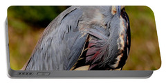 Tricolor Heron Portable Battery Charger