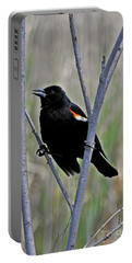 Tricolored Blackbird Portable Battery Charger