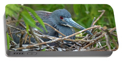 Nesting Tricolored Heron Portable Battery Charger