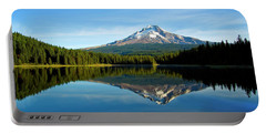 Trillium Lake Mt Hood Fall Portable Battery Charger