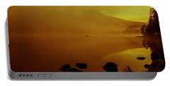 Trillium Lake Sunrise Portable Battery Charger