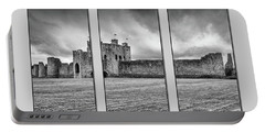 Trim Castle Triptych  Portable Battery Charger