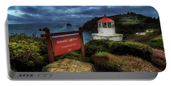 Trinidad Memorial Lighthouse Portable Battery Charger by James Eddy