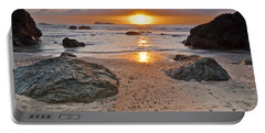 Trinidad State Beach Sunset Portable Battery Charger