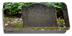 Trinity Church Tombstone Portable Battery Charger