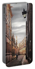 Portable Battery Charger featuring the photograph Trinity Lane Cambridge by Gill Billington