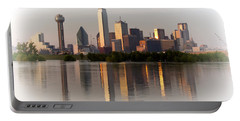 Trinity River Dallas 4 Portable Battery Charger