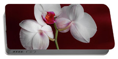 Trio Of Orchids Portable Battery Charger