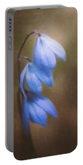 Trio Of Spring Flowers Portable Battery Charger