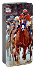 Triple Crown Winner Justify 2 Portable Battery Charger